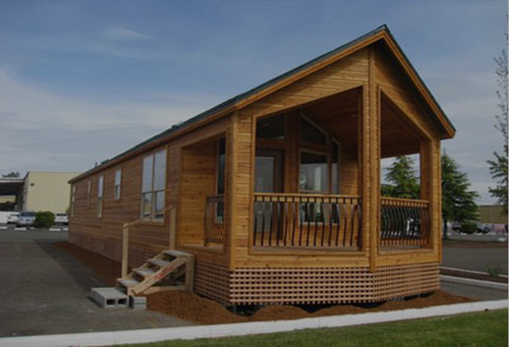 Cute cheap little modular log cabin homes like this are for Cheap cottages