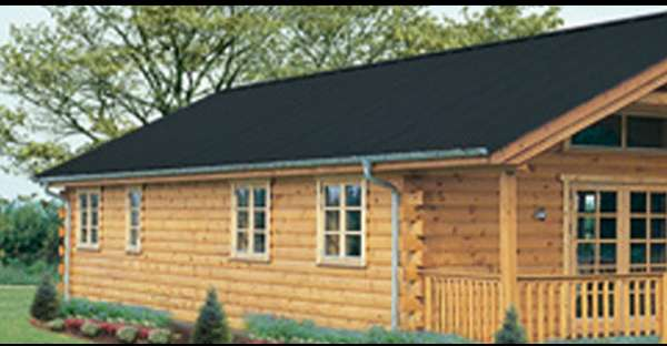 The Entire Log Cabin Only Costs 35 000 Including Wrap