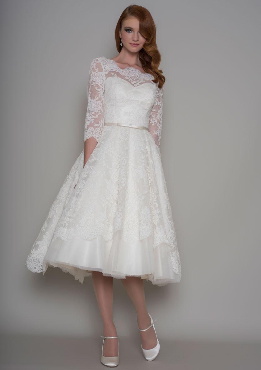 1950s Wedding Gowns. Vintage Brautkleider als Inspiration für die ...